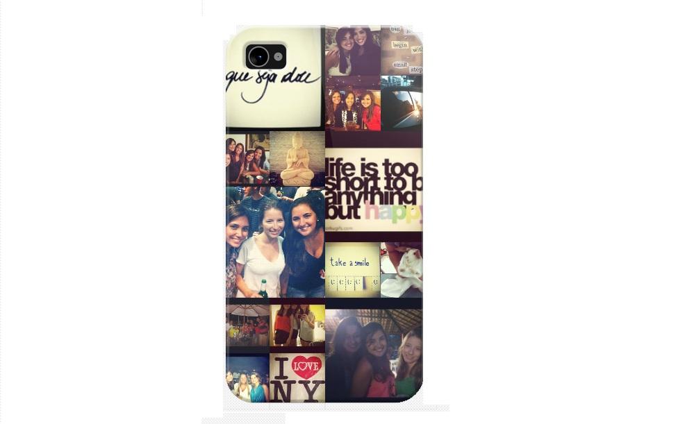 O case para iPhone pode ser personalizado de diversas formas com suas fotos do Instagram (Foto: Reprodução/TechTudo)
