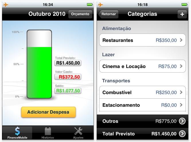 FinanceMobile (Foto: Divulgação)