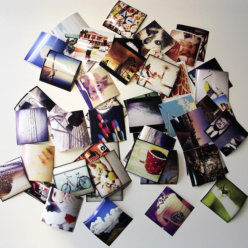 No site ArtFlakes o usuário pode transformar suas fotografias em adesivos decorativos (Foto: Reprodução/ArtFlakes)