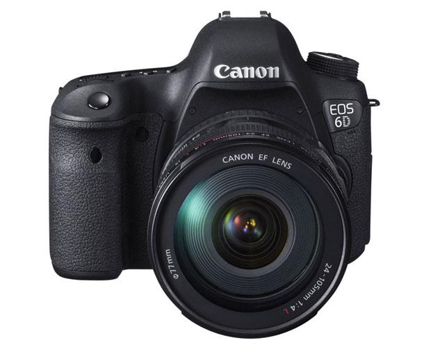 Canon apresenta a EOS 6D, uma DSLR full-frame mais portátil, leve e acessível (Foto: Reprodução)