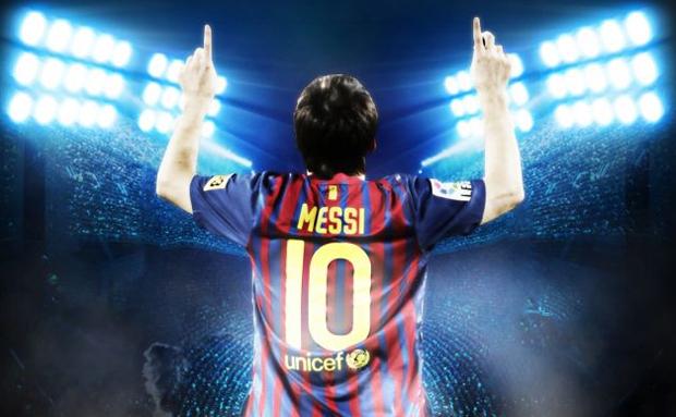 Messi é o melhor do mundo também em Fifa 13 (Foto: Divulgação)