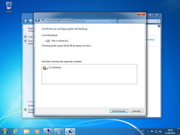 Imagem do Windows 7 - Passo 5