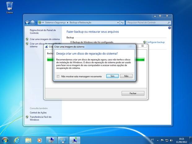Imagem do Windows 7 - Passo 7