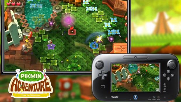 Pikmin Adventure em Nintendo Land (Foto: Divulgação)