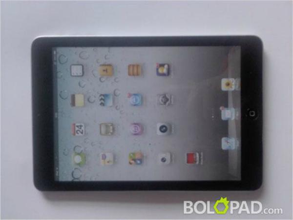 iPad Mini funcionando Imagem vazou nesta semana (Foto: Reprodução)