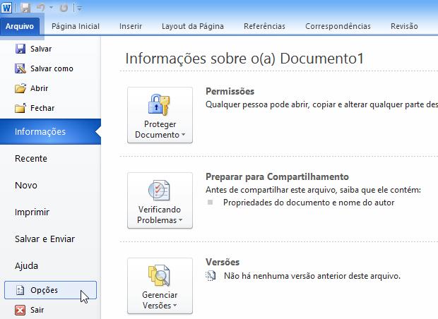 Menu do Office 2010 (Foto: Reprodução/Helito Bijora) (Foto: Menu do Office 2010 (Foto: Reprodução/Helito Bijora))