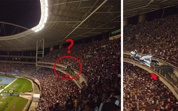 Assasssins Creed 3 terá evento com Desmond em estádio do Brasil (Foto: Reprodução)
