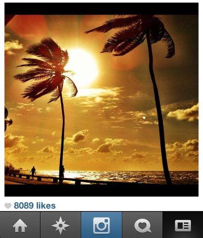 Foto do Instagram tirada por Rodrigo Simas (Foto: Rodrigo Simas)
