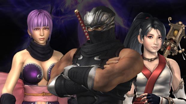 Ryu e as beldades de Ninja Gaiden Sigma 2 (Foto: Divulgação)