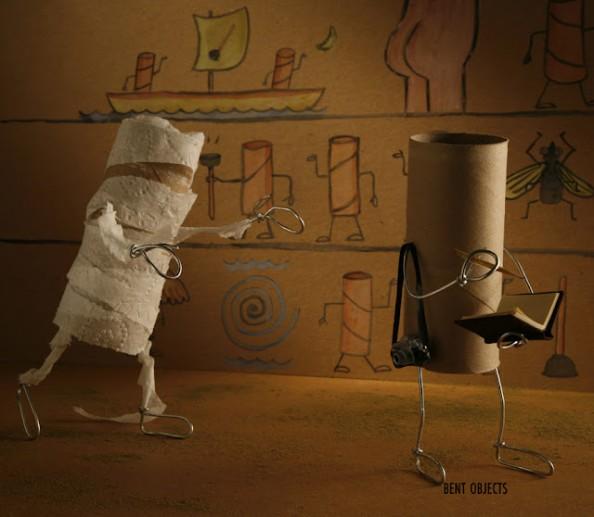 A maldição da Múmia (Foto: Terry Border)