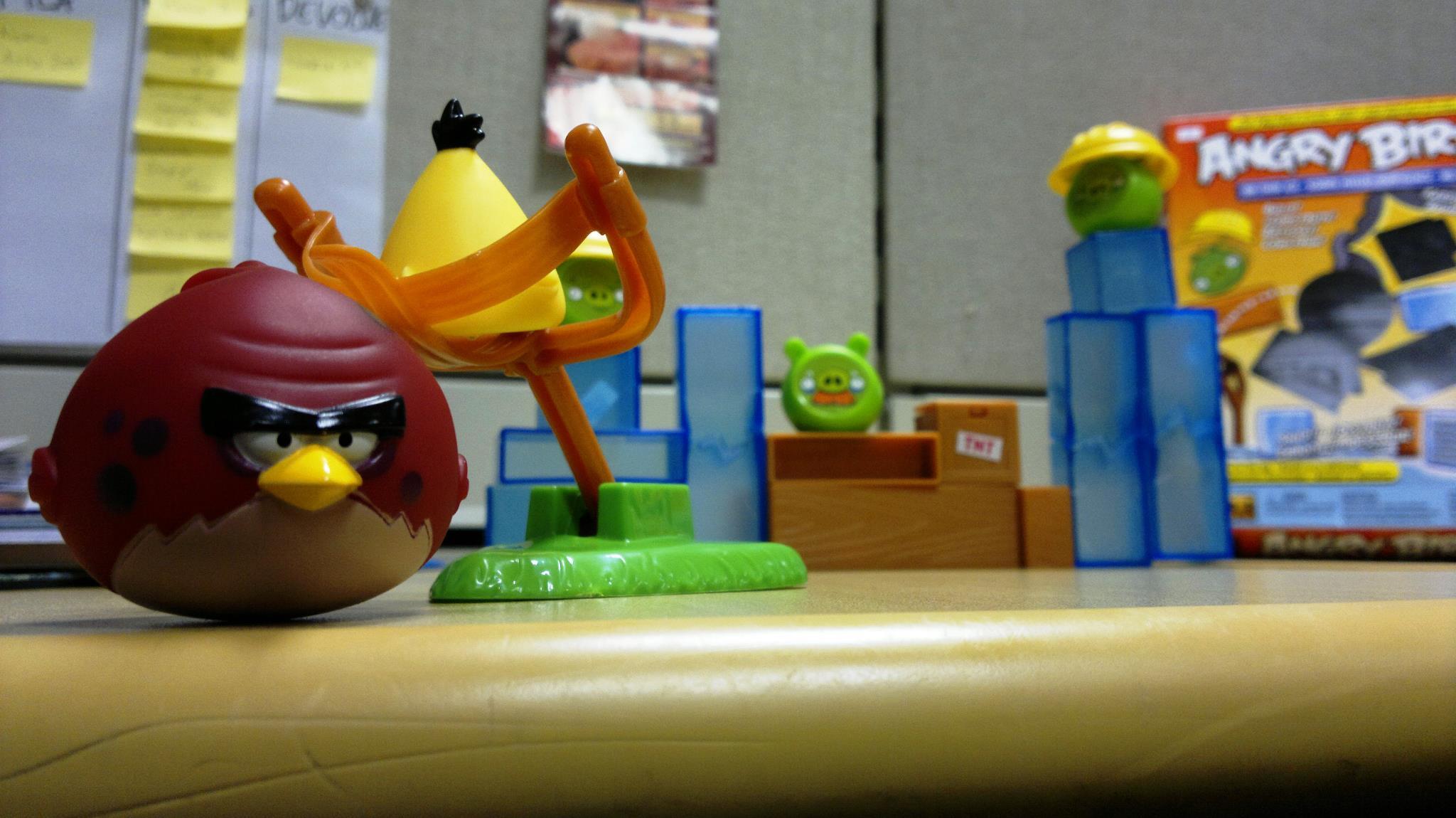 Angry Birds No Gelo é a versão de tabuleiro da série da Rovio (Foto: TechTudo)