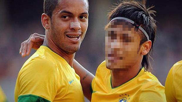 Rosto censurado (Foto: Reprodução)