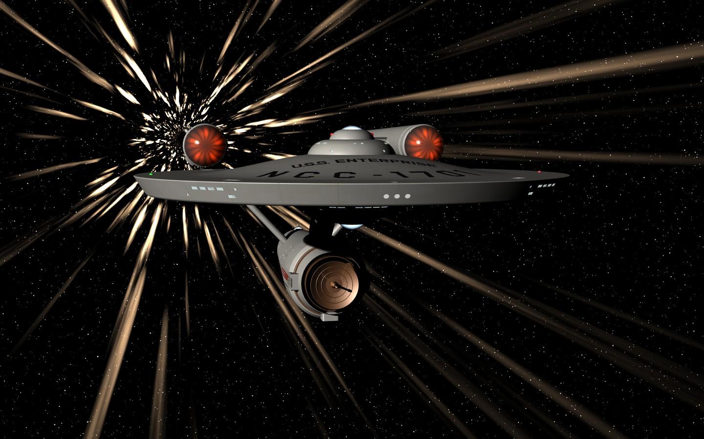 Cientistas afirmam estarem desenvolvendo tecnologia de 'velocidade de dobra' da Enterprise de StarTrek (Foto: Reprodução)