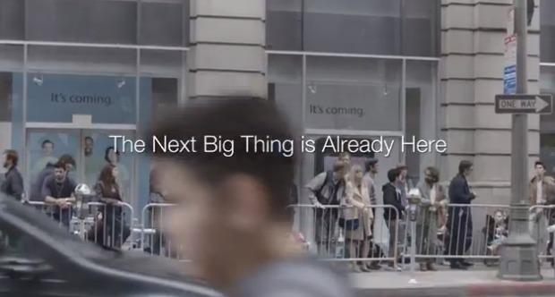 Comercial da Samsung gerou polêmica na web (Foto: Reprodução)