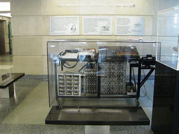 Figura 1: Réplica do ABC exposta na Universidade de Iowa