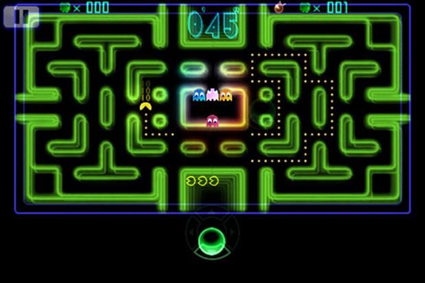 Pac-Man voltou com um visual mais futurista (Foto: Divulgação)
