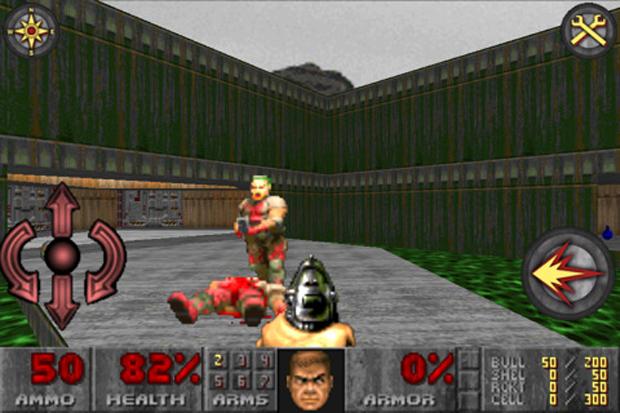 Tiroteio e violência no seu bolso com Doom Classic (Foto: Divulgação)