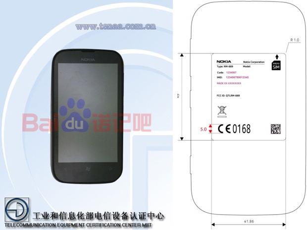 Este é o suposto Lumia 510 que vazou na Internet (Foto: Reprodução)