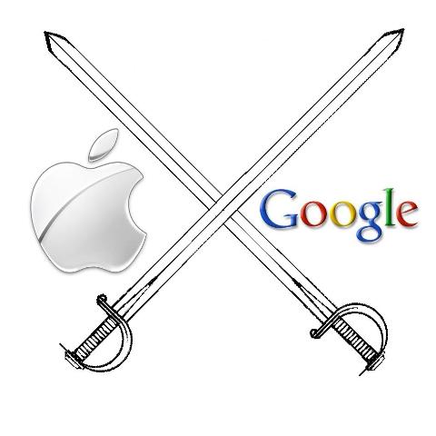 Mais um capítulo da briga entre Apple e Google (Foto: Reprodução)