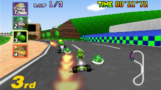 Mario Kart 64 (Foto: Divulgação)