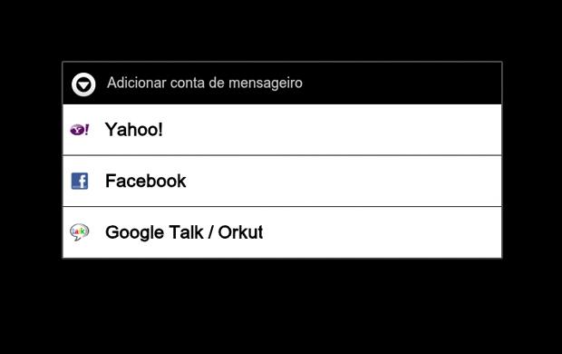 adicionando contas mobile (Foto: adicionando contas mobile)