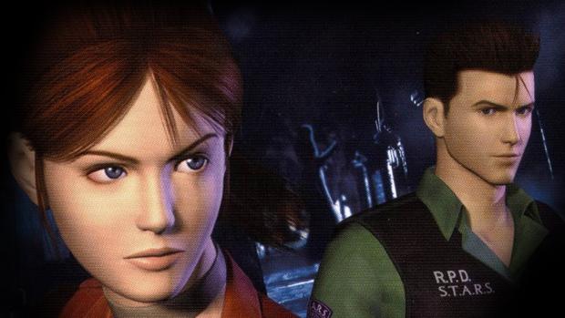 Claire e Chris em Resident Evil Code: Verônica (Foto: Claire e Chris em Resident Evil Code: Verônica)