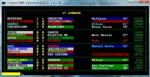 Elifoot 2 foi o primeiro da série a ter menu com cor (Foto: Reprodução) (Foto: Elifoot 2 foi o primeiro da série a ter menu com cor (Foto: Reprodução))