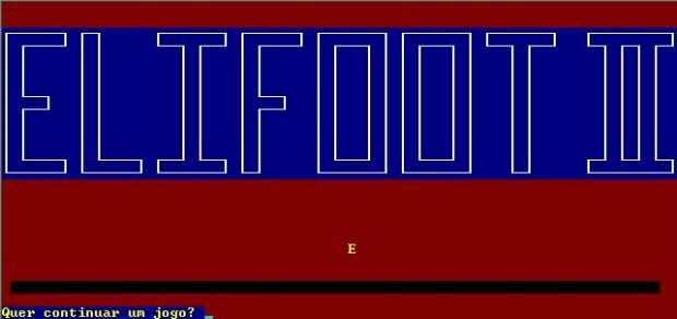 Elifoot é um dos jogos mais clássicos da história (Foto: Reprodução)