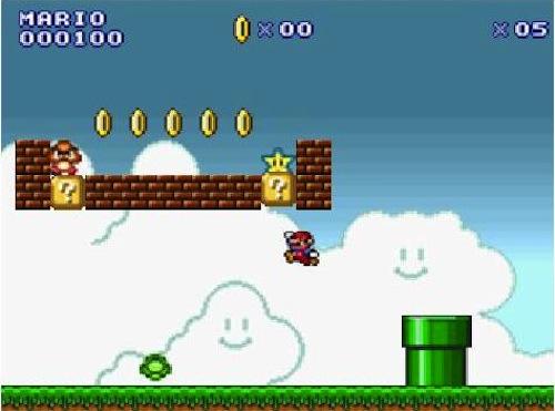 Super Mario no Facebook (Foto: Reprodução)