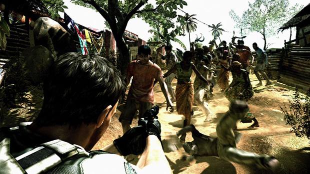 Resident Evil 5 apresenta um novo vírus. (Foto: Reprodução) (Foto: Resident Evil 5 apresenta um novo vírus. (Foto: Reprodução))