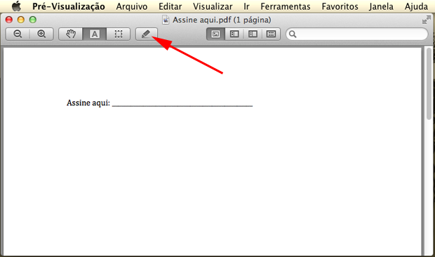 Selecionando o menu de edição de PDF (Foto: Reprodução/Hugo Carvalho)