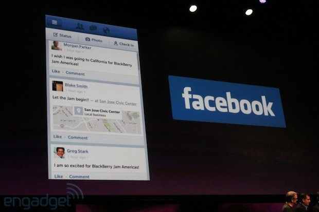 Aplicativos de redes sociais foram apresentados em conferência (Foto: Engadget)