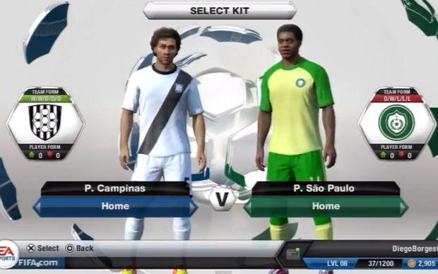 Ponte Preta e Palmeiras terão uniformes genéricos (Foto: Reprodução TechTudo)