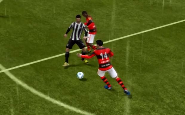 Sistema de marcação também evoluiu em Fifa 13 (Foto: Reprodução TechTudo)