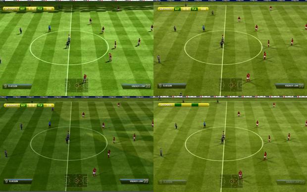 Variação de horários e iluminações em Fifa 13 (Foto: Reprodução TechTudo)