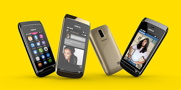 Nokia lança dois novos aparelhos da linha Asha que custarão menos de R$ 200 (Foto: Divulgação / Nokia) (Foto: Nokia lança dois novos aparelhos da linha Asha que custarão menos de R$ 200 (Foto: Divulgação / Nokia))