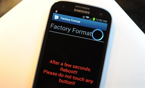 O Galaxy S3 é também vulnerável a falha (Foto: Reprodução)