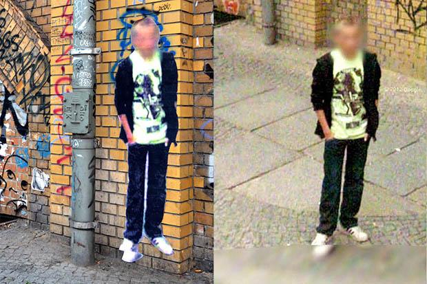 """Trabalho de """"fantasmas"""" do Street View está sendo um sucesso (Foto: Reprodução)"""