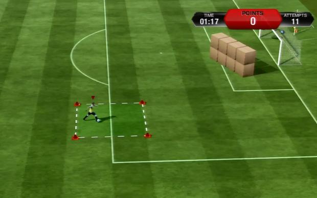 Treinamento de Fifa 13 (Foto: Reprodução TechTudo)