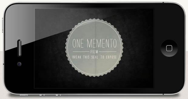 One memento, app câmera para iPhone e iPad (Foto: Reprodução)