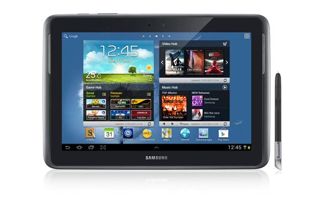 Novo tablet Galaxy Note 10.1 foi apresentado no Brasil nesta quinta-feira (27) (Foto: Divulgação)