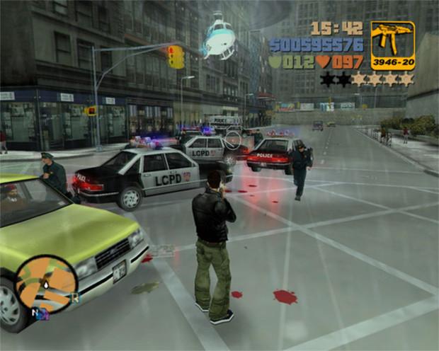 Grand Theft Auto 3 (Foto: Divulgação)