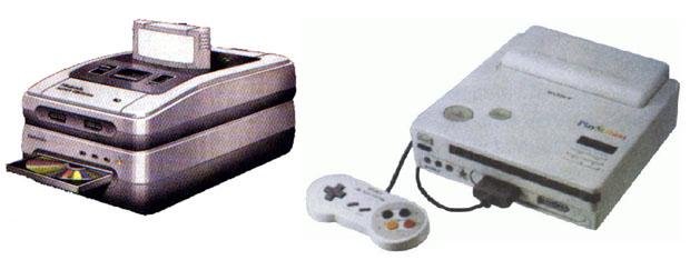Super Nintendo CD, como acessório e console independente (Fotos: Divulgação) (Foto: Super Nintendo CD, como acessório e console independente (Fotos: Divulgação))