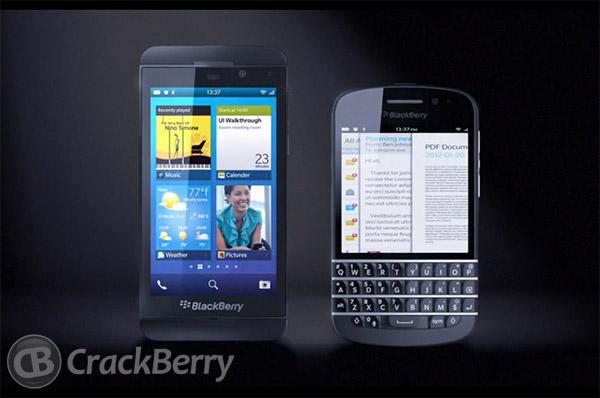 Novos modelos BlackBerry séries L e N (Foto: Reprodução/CrackBerry)