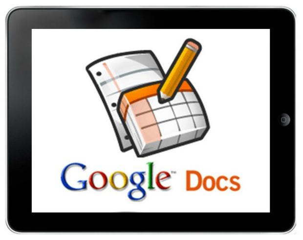 Google Docs roda no iPad ou no iPhone sem problemas (Foto: Reprodução)