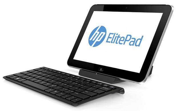 ElitePad 900 com o teclado embutido (Foto: Reprodução)