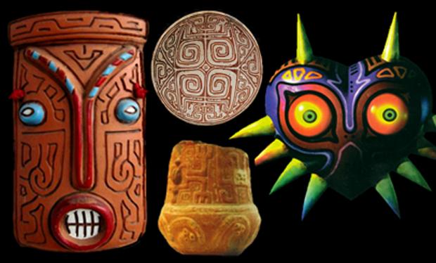 Marajoaras em Majora's Mask (Foto: Reprodução / Did you know Gaming?)