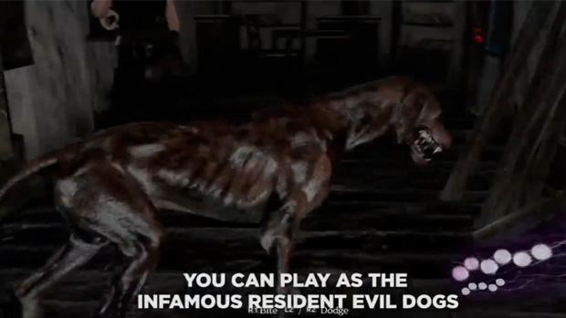 Modo Agent Hunt de Resident Evil 6 permite que você seja um cachorro (Foto: Divulgação) (Foto: Modo Agent Hunt de Resident Evil 6 permite que você seja um cachorro (Foto: Divulgação))