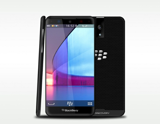 Conceito de design do novo BlackBerry 10 Aristo (Foto: Reproduo)