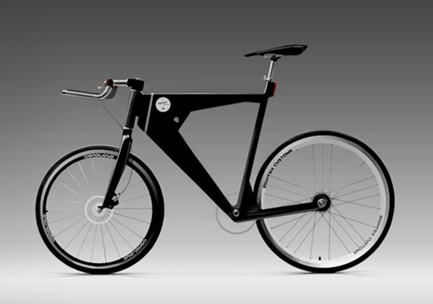 Velo, bicicleta conceito que se conecta a smartphone (Foto: Reprodução)